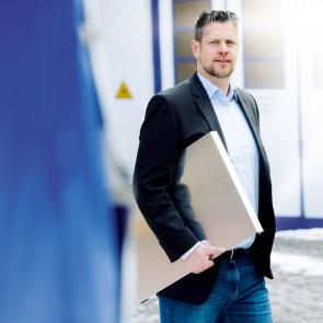 Daniel Wilken – Verstärkung von COMETEC-Außendienst