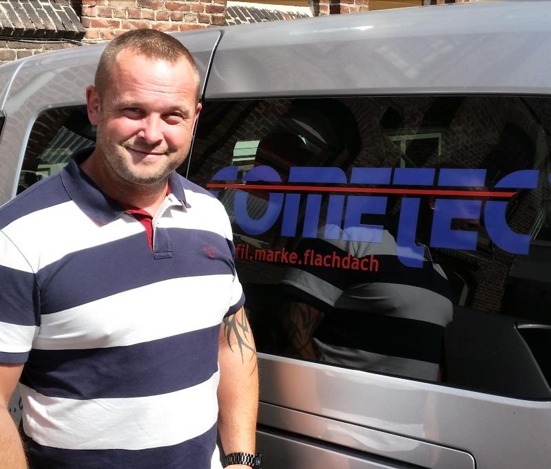 Dominic Borsch – Verstärkung von Verkauf-Außendienst